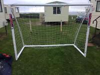 1 pair of 8 x 6 ft samba goalposts