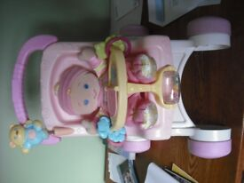 Pushchair and Doll - Fisher Price