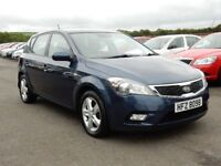 2011 Kia ceed automatic 1.6 petrol only 76000 miles, motd oct 2018