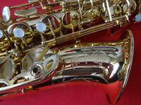 Selmer SA 80 Series II Alto Sax - Jubilee - Gold lacquer