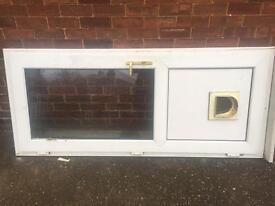 Double glazed back door