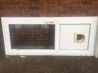 Double glazed back door