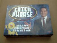 NEW CATCH PHRASE TV BOARD GAME.