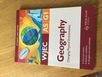 WJEC Geography Student guides -AS & A2 Level