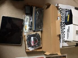 2 X BT YOUVIEW BOX 2HOME HUB 5 ROUTER WITH REMOTES. SKY+HD BOX & 2 ROUTERS & IPAD1 SMASHED SCREEN