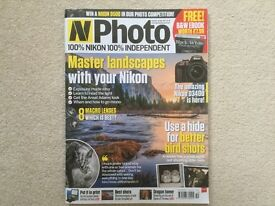 N-Photo magazines. (50 camera magazines)