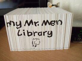 MR MEN LIBRARY SET OF 46 BOOKS