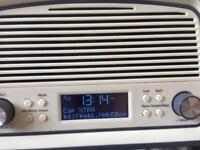 Retro/Vintage DAB radio and alarm