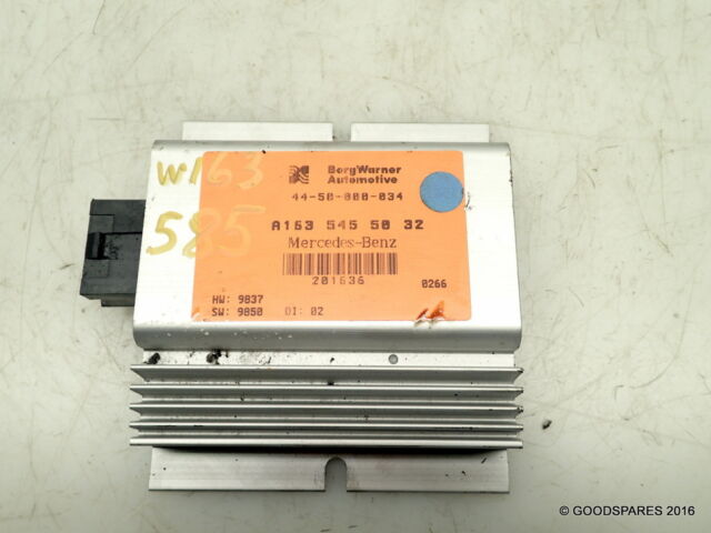 Transfer Box Control Unit Ecu-A1635455032-(ref.585)-00 Mercedes ML 270 Cdi W163