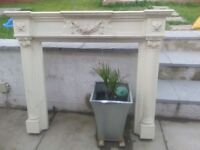 Fire surround large marbel look