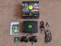 Original Xbox Console and Games