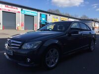 FULL SERVICE HISTORY MERCEDES C220 BLUEEFF SPORT