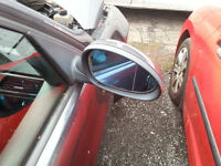 BMW 3 Series E90 E91 driver side heated right wing mirror O/S