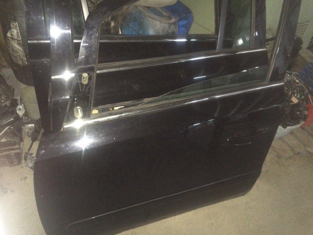 Vauxhall Zafira n/s front door 2010 black