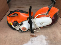 Stihl TS410 Petrol Disc Cutter Concrete Con cutting Saw with blade JCB Makita Husqvarna Hilti ts 410