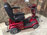 NEARLY NEW FRONTIER RASCAL MOBILITY SCOOTER, EXCELLENT CONDITION