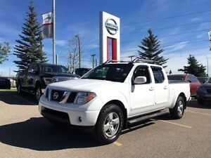 2008 Nissan Frontier LE V6 4X4 CREW CAB LEATHER