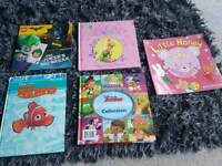 Children's books £1 each.