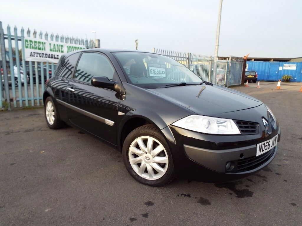 PX TO CLEAR 2006 RENAULT MEGANE 1.6 16V FULL MOT