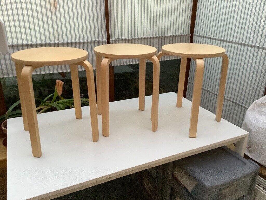 Pleasant Ikea Frosta Stools In Broxburn West Lothian Gumtree Uwap Interior Chair Design Uwaporg