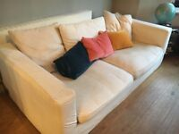 White 3 person sofa: FREE !