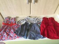 Next dresses, size 3-6 months