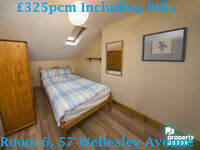 Multiple Double Rooms to rent throughout South Belfast! All Bills Included!!!