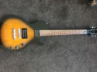 Epiphone Les Paul Electric Guitar and Marshall Amp