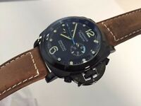 New Panerai Luminor Regatta Automatic Watch, See Through back
