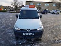 2008 Vauxhall Combo 1.3 CDTi 16v 1700 Panel Van 3dr 2 KEYS. 1 OWNER FROM NEW. FSH