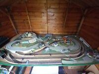 Vintage Model Rail & Roadway Layout