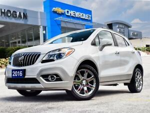 2016 Buick Encore Leather, Sunroof, Navigation