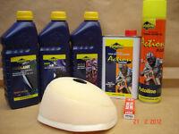 KTM 85 SX 04-12 Motocross Service/Prep Kit Air Filter Oil Coolant Plug MX5