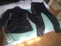 Triumph Ladies Textile motorcycle suit