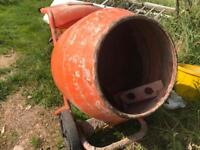 Belle 150 petrol cement mixer