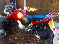 Motorbike Yamaha YBR125 Excellent con , only 11,000miles 12 Plate £1200 ono excellent condition