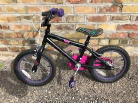 Girls Tinkerbell bike like NEW!