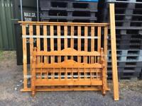 Pine double beds