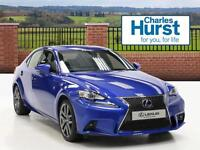 Lexus IS 300H F SPORT (blue) 2013-09-23