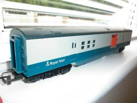 HORNBY OO GAUGE ROYAL MAIL OPERATING SET IN MINT CONDITION PLYMOUTH AREA