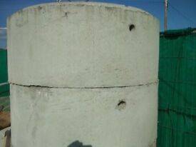 concrete manholes 1200m diameter 0.5 high and 1 m high