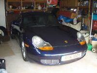 Porsche Boxter Tiptronic auto 2002.