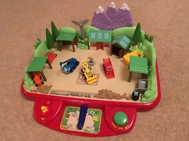 Bob the Builder Sunflower Valley Drive & Build Playset