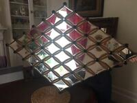 Fantastic Art Deco style mirror, Rrp 250£, great to bounce light instead of picture