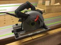 Metabo FSKS55 Plunge Saw with Festool 1.4m guide rail