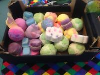 Unused lush bath bombs and bubble roon bundle