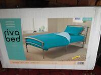 Single bed and orthopedic memory foam mattress