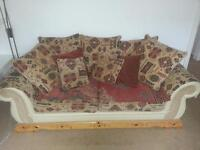 1x 3 seater & 1x 2 seater settees/sofas. Excellent condition.