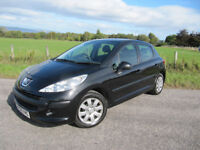 Peugeot 207 S 5 door ONLY 57,000 MILES WITH FSH (7 stamps) 2008 model LONG MOT ONLY £2,375 ono