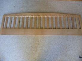 superking wooden bedhead